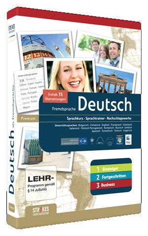 Deutsch lernen komplett Version für Anfänger, Fortgeschrittene und Business