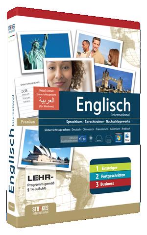 Englisch lernen komplett Version für Anfänger, Fortgeschrittene und Business
