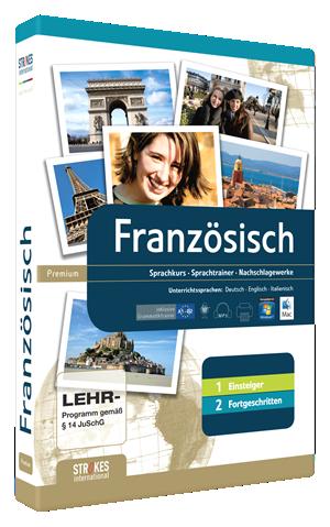 Französisch lernen Kombipaket für Anfänger und Fortgeschrittene