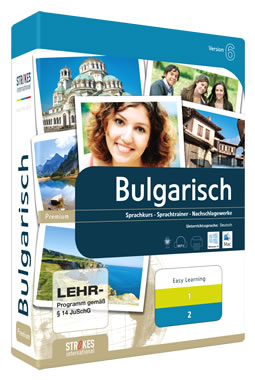 Learn Bulgarian with Strokes Easy Learning: Teaching Language German