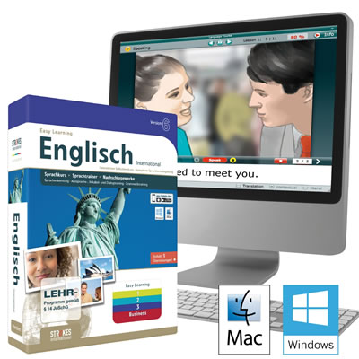 Easy Learning 6.0 Sprachlernsoftware von Strokes Publishing