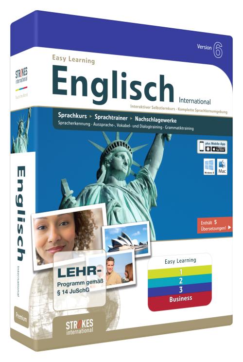 Englisch International 1 + 2 + 3 + Test ohne ID