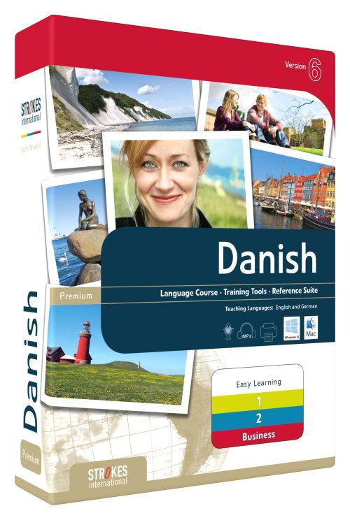 Learn Danish complete Set - Strokes Easy Learning