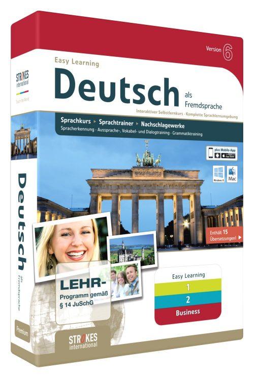 Deutsch lernen als Fremdsprache. Anfänger, Fortgeschrittene, Business