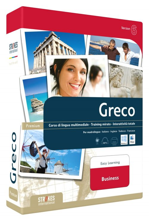 Imparare Greco Business - Strokes Easy Learning