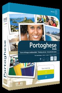 Imparare Portoghese Brasile paccetto Combi- Strokes Easy Learning